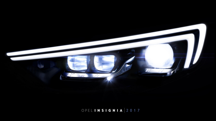 2017 Opel Insignia has twice as many LEDs as the Astra