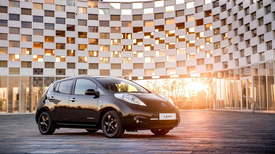 Nissan Leaf Black Edition'u yalnızca 6 ay üretecek