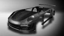 Porsche 911 Turbo carbon fiber body by TopCar