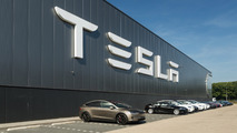 Tesla HQ with Model X
