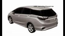 Honda Shuttle: imagens de patente antecipam nova geração da perua do Fit