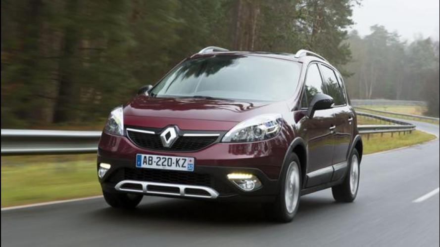 Renault Scenic XMOD Cross, sempre confortevole ora non teme lo sterrato