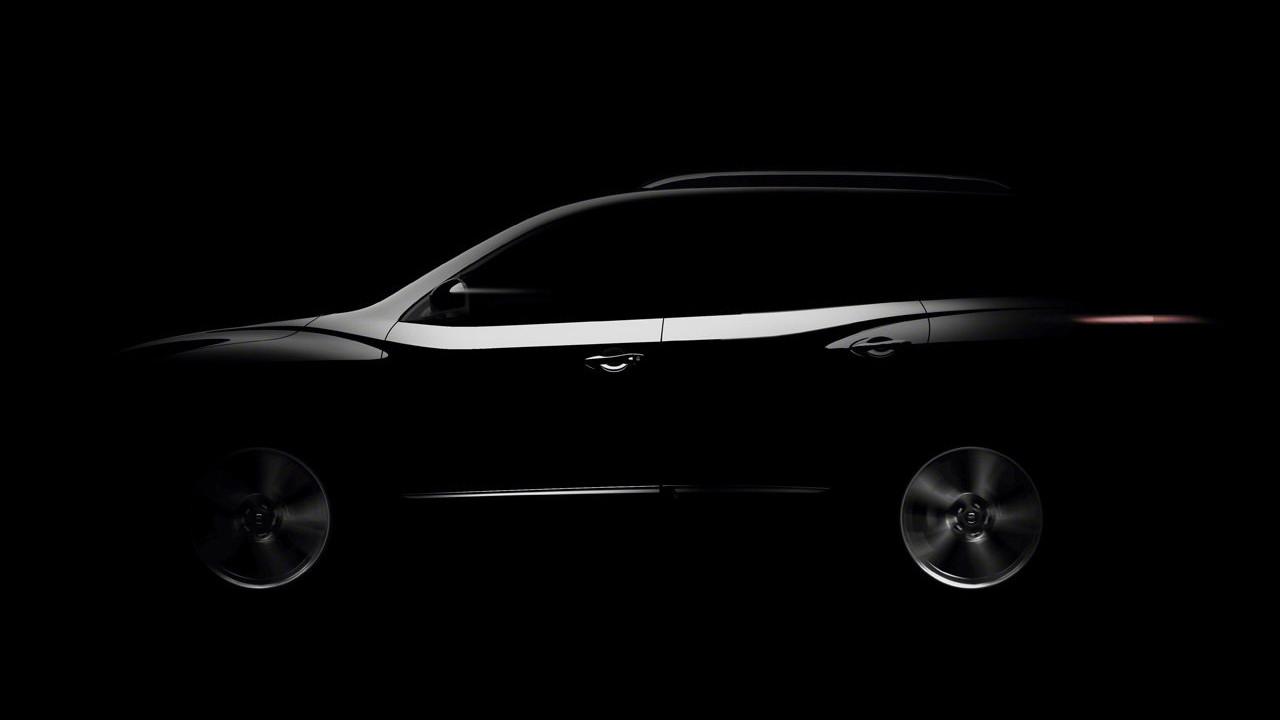 Nissan Pathfinder Concept. Il teaser