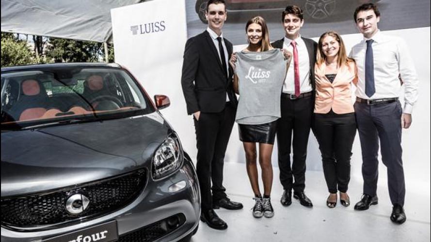 smart forfour, premiata l'idea di marketing di 3 giovani studenti