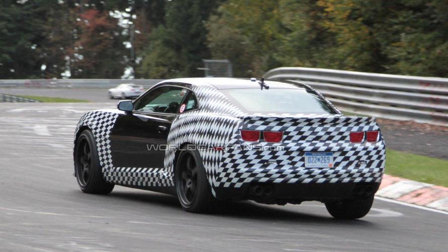 2012 Chevrolet Camaro Z28 on the Nürburgring [video]