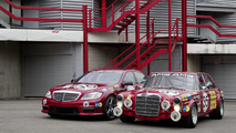 "Mercedes S 63 AMG ""Thirty-Five"" meets 300 SEL 6.8 AMG"