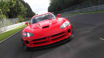 SRT Viper ACR-X at the Nürburgring