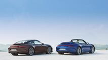Porsche 911 4 & 4S officially unveiled in Paris