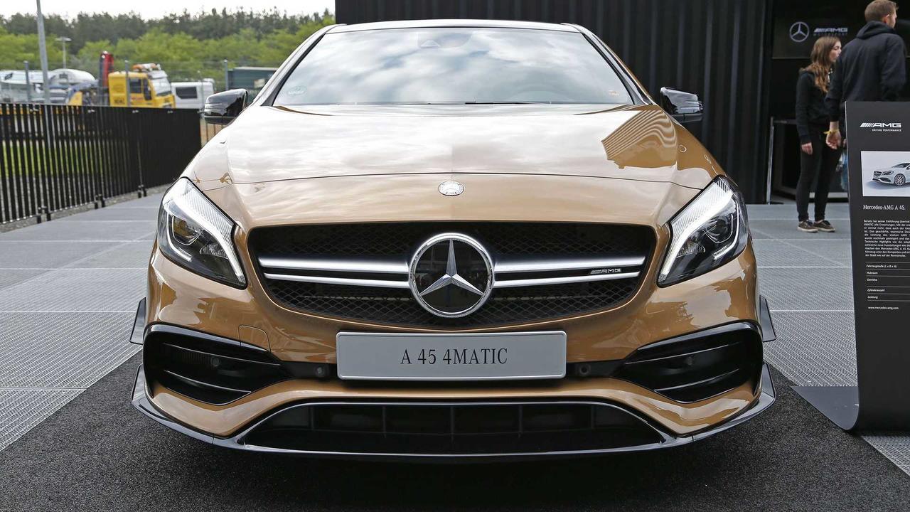 Mercedes-AMG A45 Canyon Beige