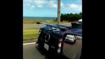 Pagani Zonda Crash Uruguay
