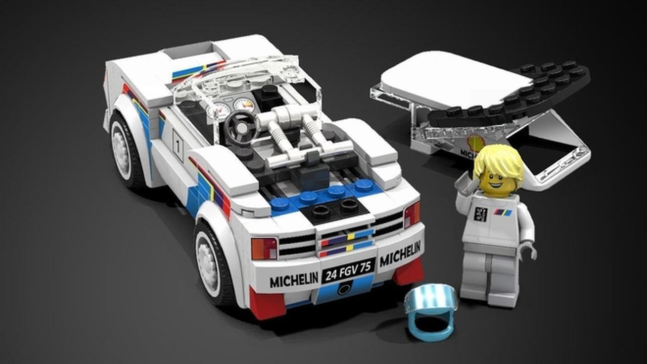 Une Peugeot 205 T16 En Lego