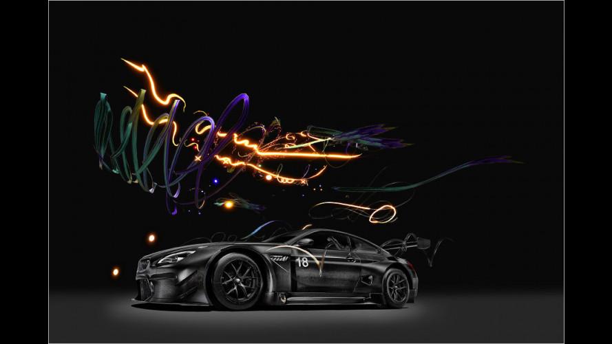 Künstlerisch verfeinerter BMW M6 GT3