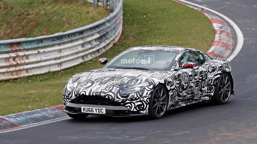 New 2018 Aston Martin V8 Vantage Spied At The 'Ring