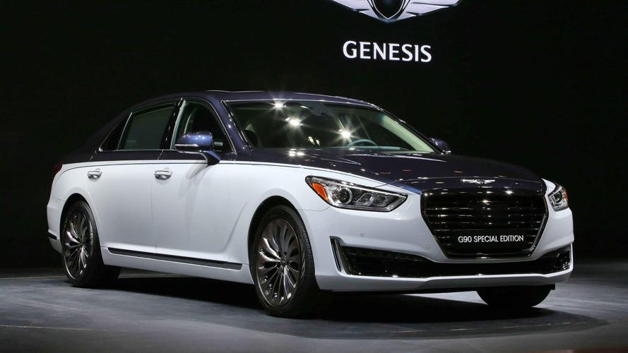 2017 Genesis G90 Special Edition