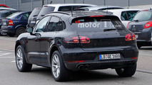 Porsche Macan Refresh Spy Shots