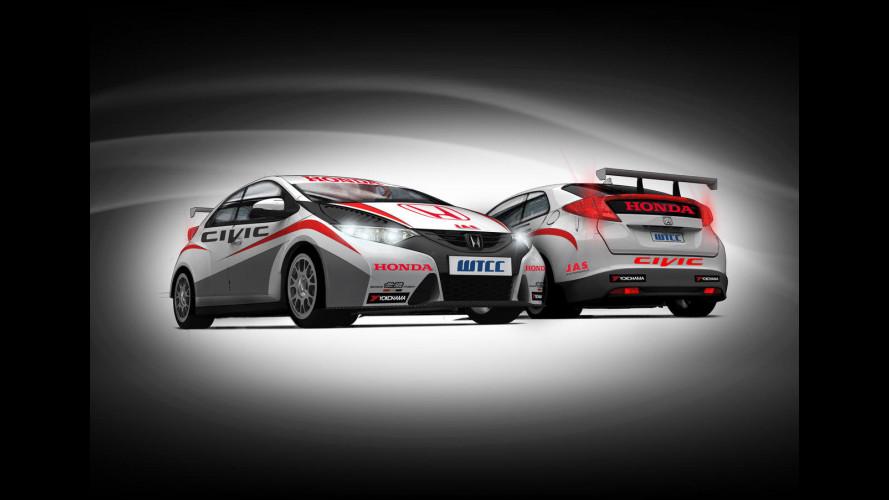 Honda ritorna nel WTCC con la nuova Civic