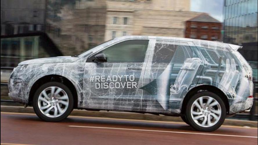Land Rover Discovery Sport, ci siamo quasi [VIDEO]