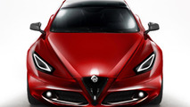 Alfa Romeo Giulia sportwagon speculative renderings 07.01.2012
