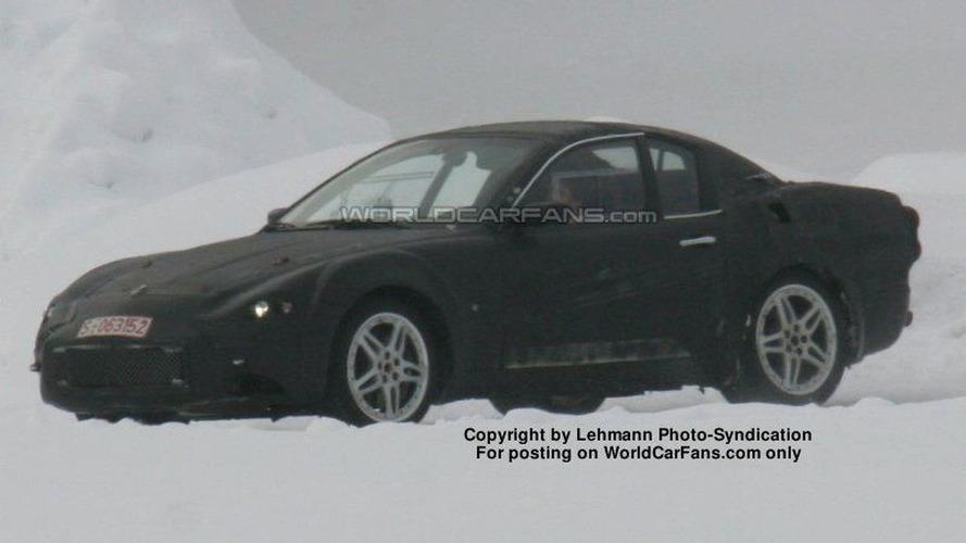 SPY PHOTOS: New Maserati Spyder