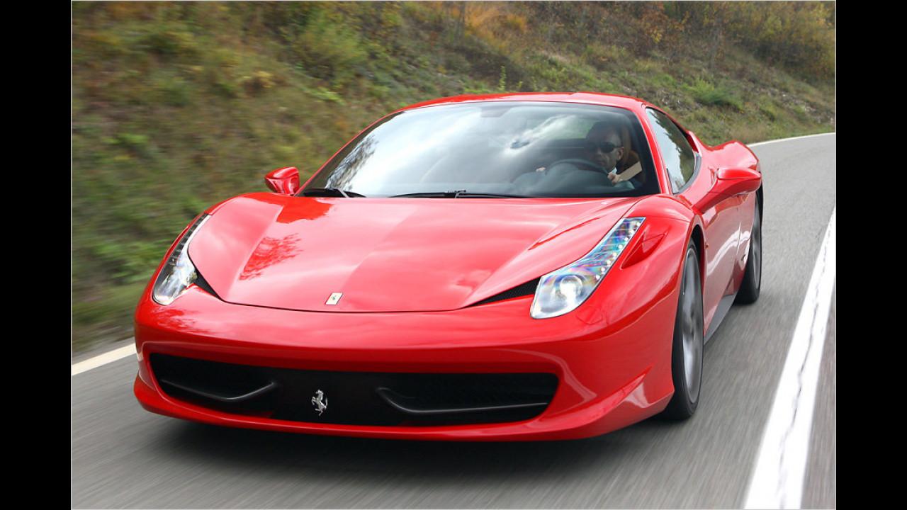Ferrari 458 Italia (Klassensieger 2011-2012)