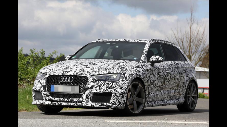 Erwischt: Audi RS3 Sportback