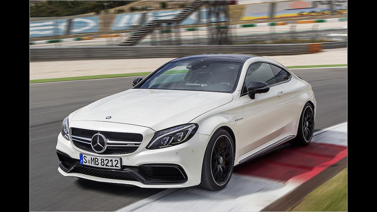 Mercedes-AMG C 63 Coupé: Platz 2 ,World Performance Car of the Year
