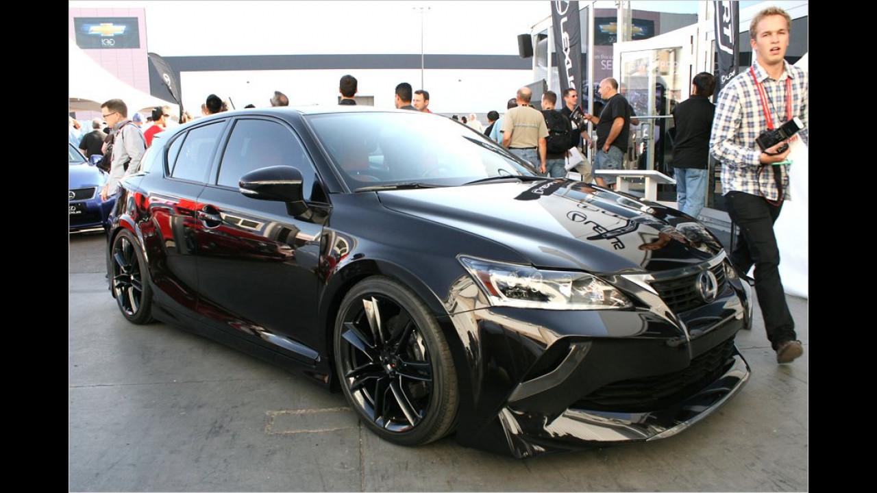 Lexus CT200h Five Axis