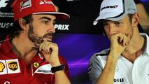 Fernando Alonso (ESP) and Jenson Button (GBR) / XPB