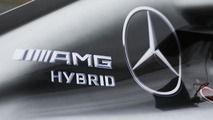 Mercedes AMG F1 W05 engine cover / XPB
