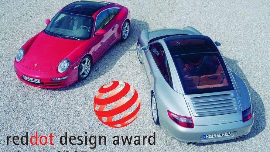 Red Dot Award 2007 for Porsche 911 Targa 4