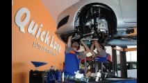 Quick Lane: Ford inaugura centro de serviços rápidos no Brasil