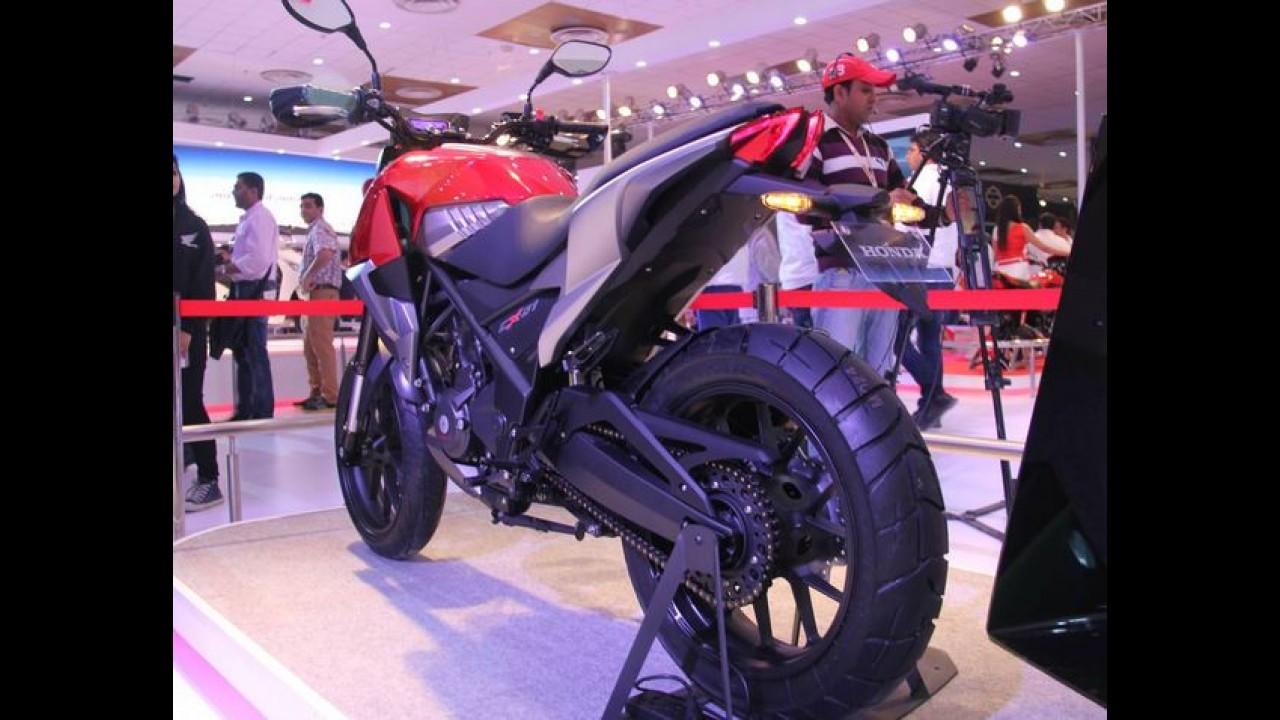 Honda CX-01 é o conceito de moto esportiva desenvolvido na Índia