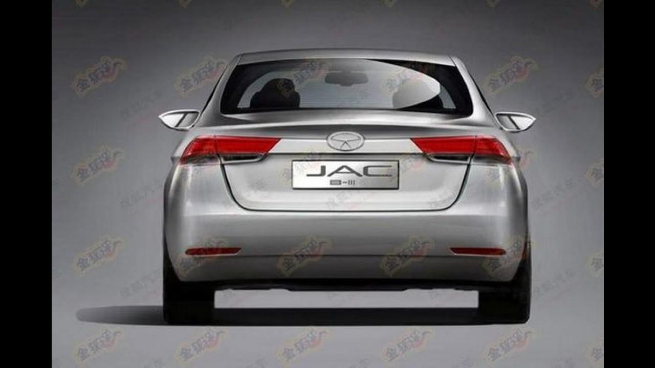 Segredo: JAC Motors já trabalha em um belo substituto do J5 para 2015
