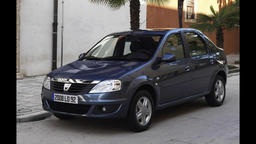 Dacia lançará nova geração do Logan em 2012