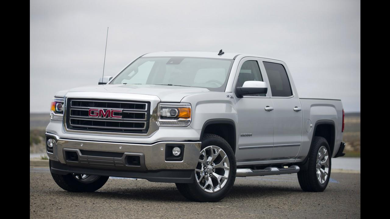 Chevrolet Silverado e GMC Sierra farão dieta rígida para perder peso