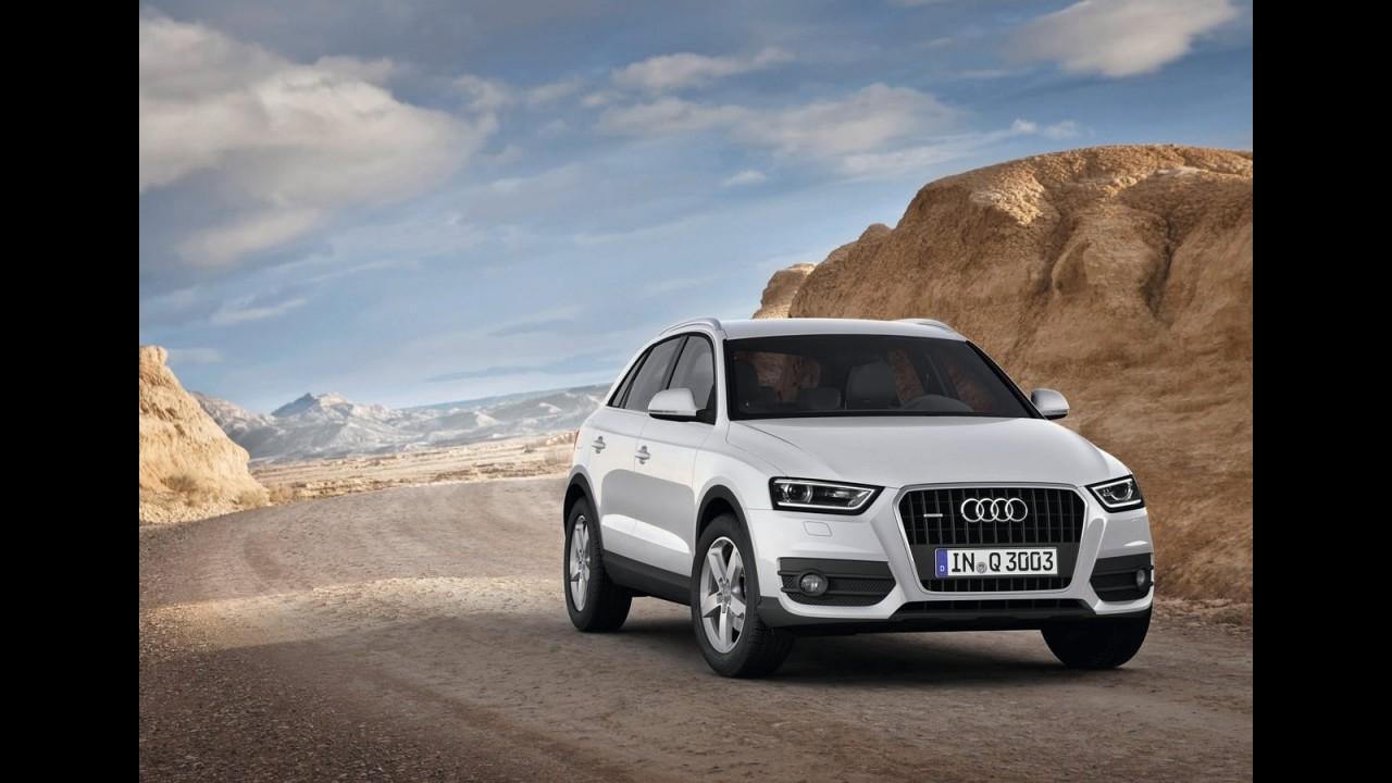 Audi Q3 chegará ao Brasil em fevereiro custando a partir de R$ 140.000