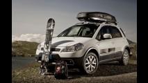 Crossover radical: Fiat apresenta série especial Nitro para o Sedici na Europa