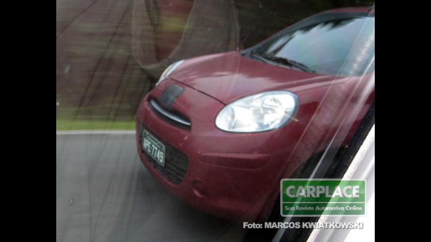 Flagra: Nissan March no Brasil