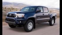 Toyota mostra dianteira da nova geração da Tacoma em novo teaser