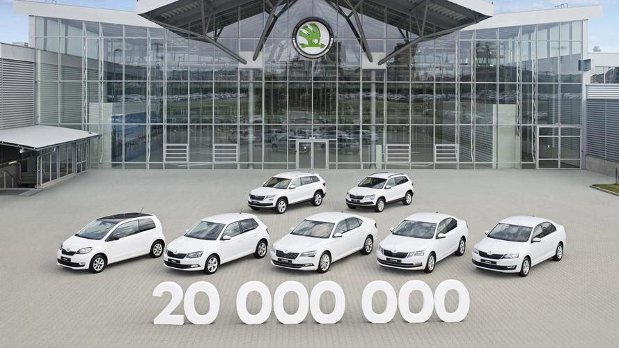 Karoq Is Skoda's 20 Millionth Vehicle Produced