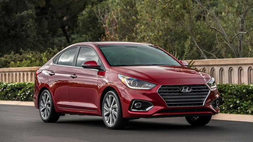 2018 Hyundai Accent'in Amerika versiyonu geldi