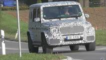 Next-Gen Mercedes-Benz G63 Spy Video