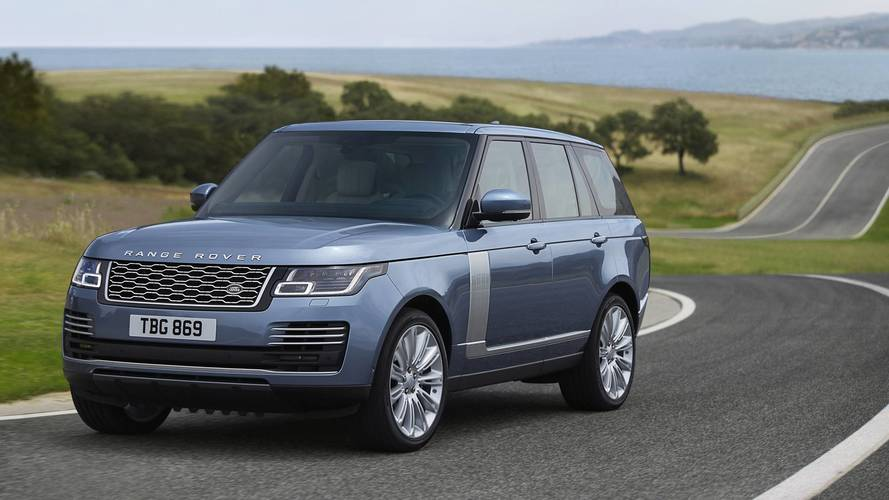 Range Rover gets hybrid power for 2018