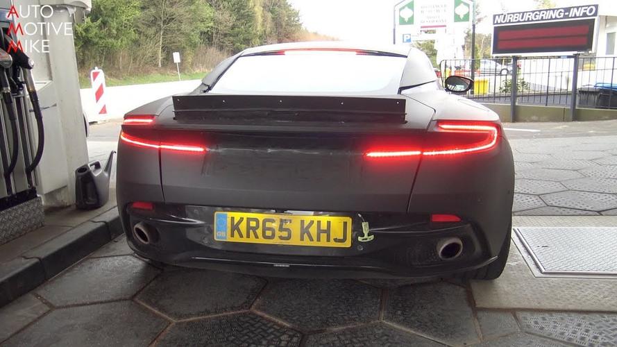 Aston Martin DB11 S Flexes Its V12 Muscles At Nurburgring Gym
