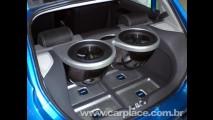 Tunados do Salão do Automóvel - Novo Gol com potente sistema de som Clarion