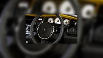 Rolls-Royce Wraith Golden Yellow