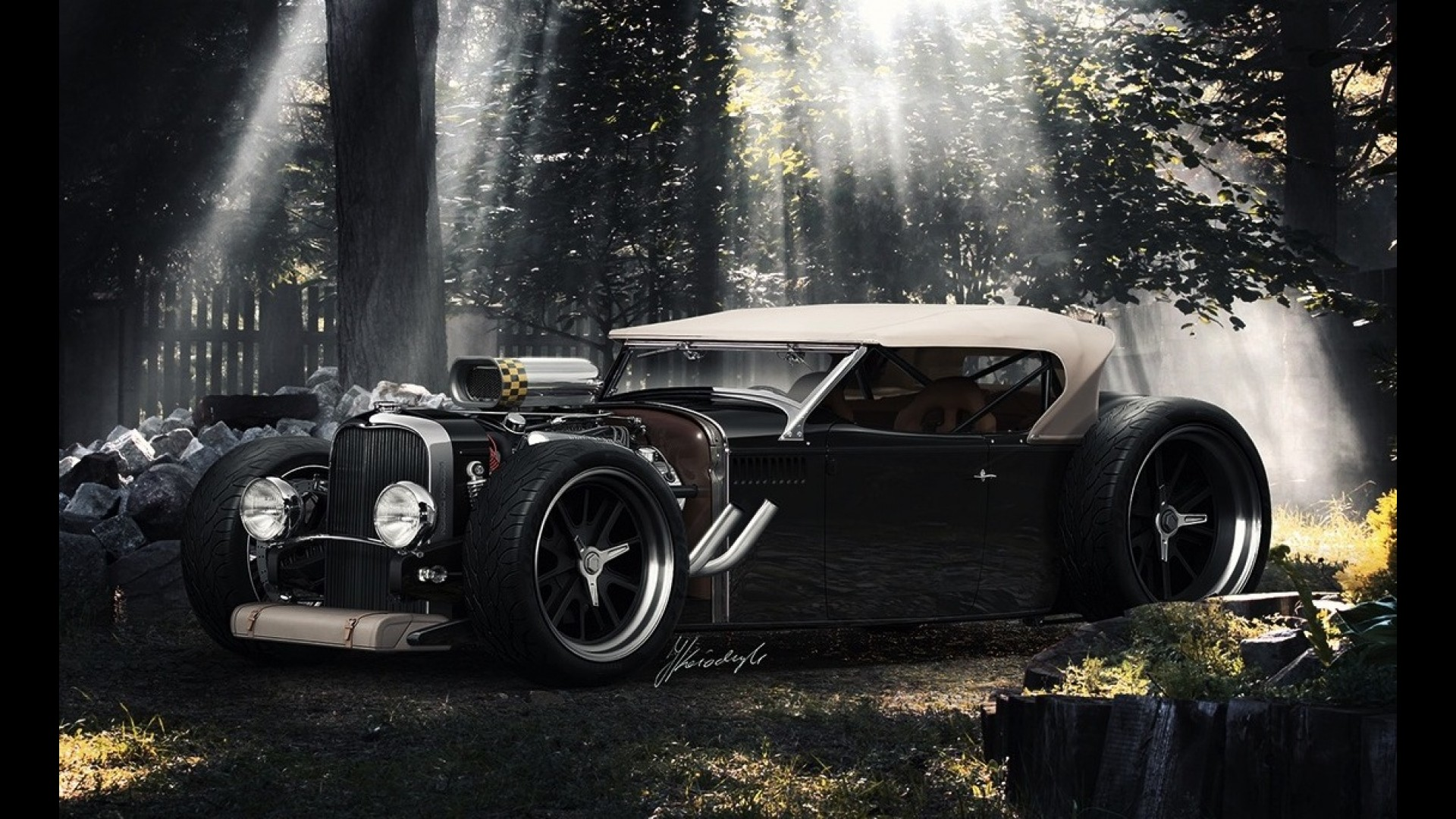 Lincoln Phaeton Hot-Rod Concept by Iacoski Design