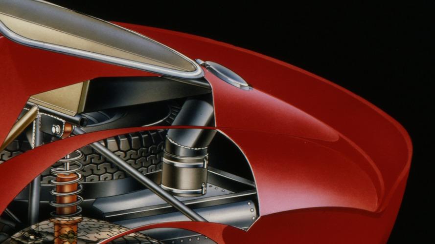 Cutaway do Ferrari 250 GTO: por David Kimble
