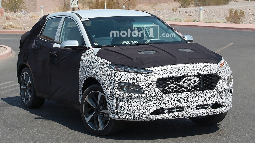 Hyundai Spy Shots >> Compact Crossover Spied Testing In The Desert
