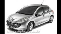Peugeot lança edição 207 Cielo com teto solar panorâmico para o Reino Unido